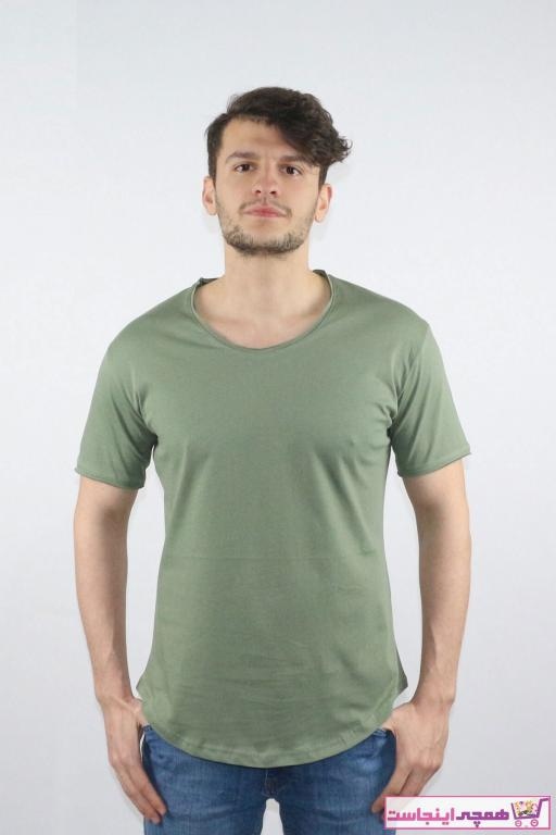 مدل تی شرت مردانه برند BlackHorn رنگ خاکی کد ty99973979