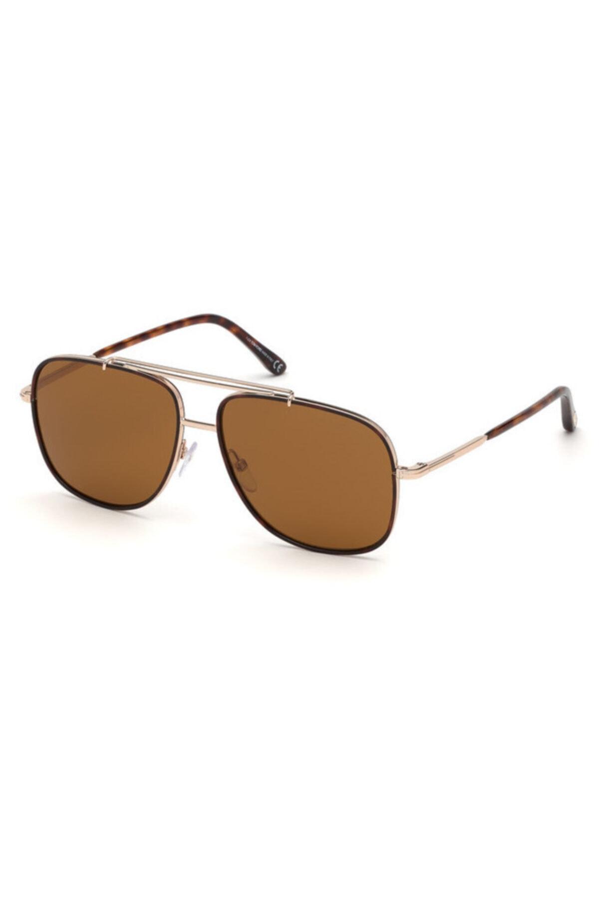 عینک دودی مردانه ترک برند Tom Ford رنگ قهوه ای کد ty99976021