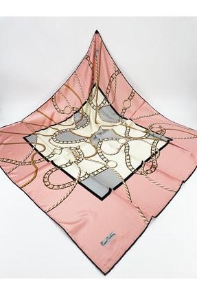 روسری زنانه اینترنتی برند پیرکاردن رنگ صورتی ty121730396