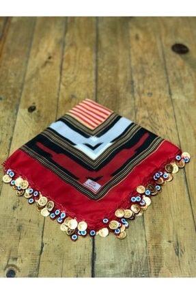 فروش پستی روسری زنانه شیک جدید برند EVVEL TRABZON رنگ قرمز ty40751398