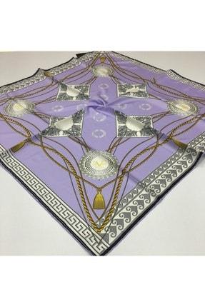 روسری زمستانی زنانه برند 19V69 ITALIA رنگ طلایی ty50842612