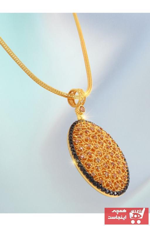 فروش پستی ست گردنبند زنانه برند Çilek Konsept رنگ طلایی ty100096300