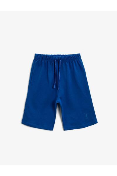 خرید انلاین شلوارک پسرانه فانتزی برند کوتون رنگ آبی کد ty100113621