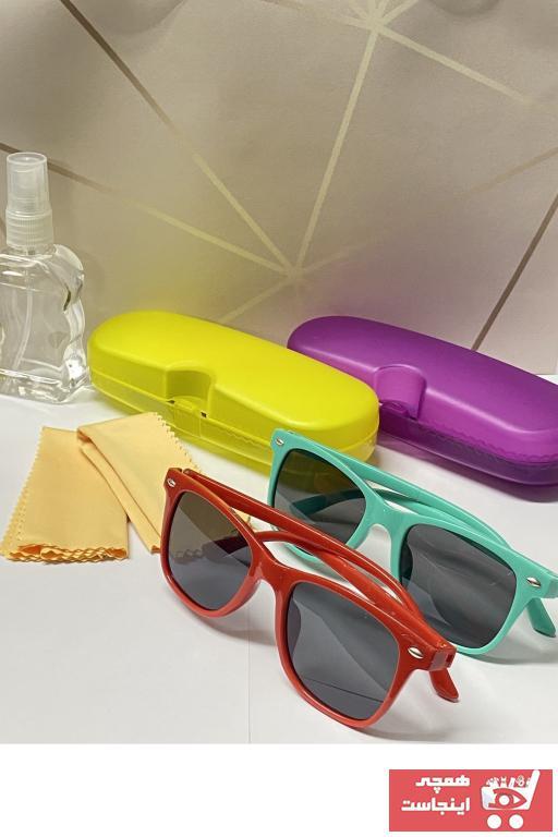 فروش عینک آفتابی دخترانه 2021 برند GBN رنگ مشکی کد ty100660623
