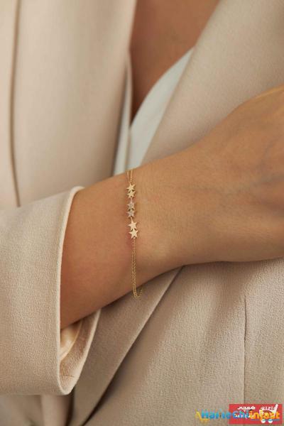 دستبند طلا 2021 مدل جدید برند Semih Haşhaş Kuyumculuk رنگ زرد ty101017128