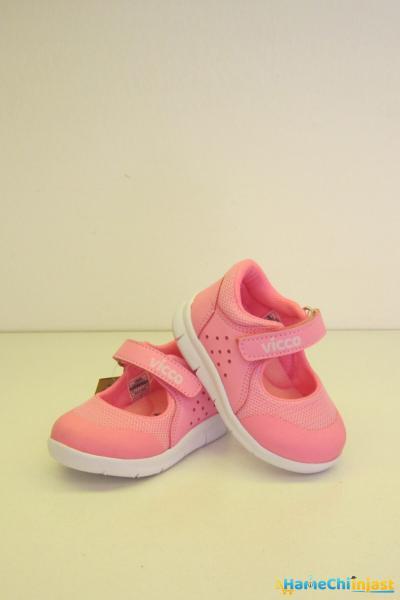 فروش کفش تخت بچه گانه دخترانه حراجی برند Vicco رنگ صورتی ty101537969