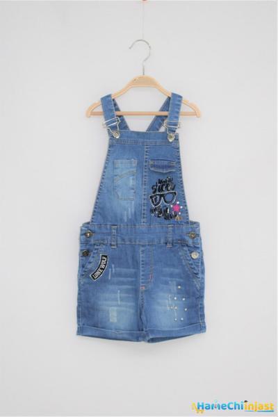 شورتک دخترانه مدل 2021 برند Altun Kids رنگ آبی کد ty101568566