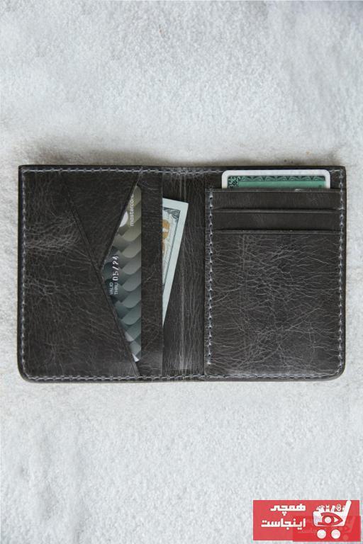 کیف کارت بانکی زنانه مدل 2020 برند VİZA LEATHER ART رنگ نقره ای کد ty101755724