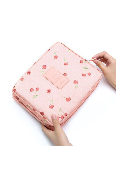 کیف لوازم آرایش دخترانه سال ۹۹ برند KOSECo رنگ صورتی ty102202199