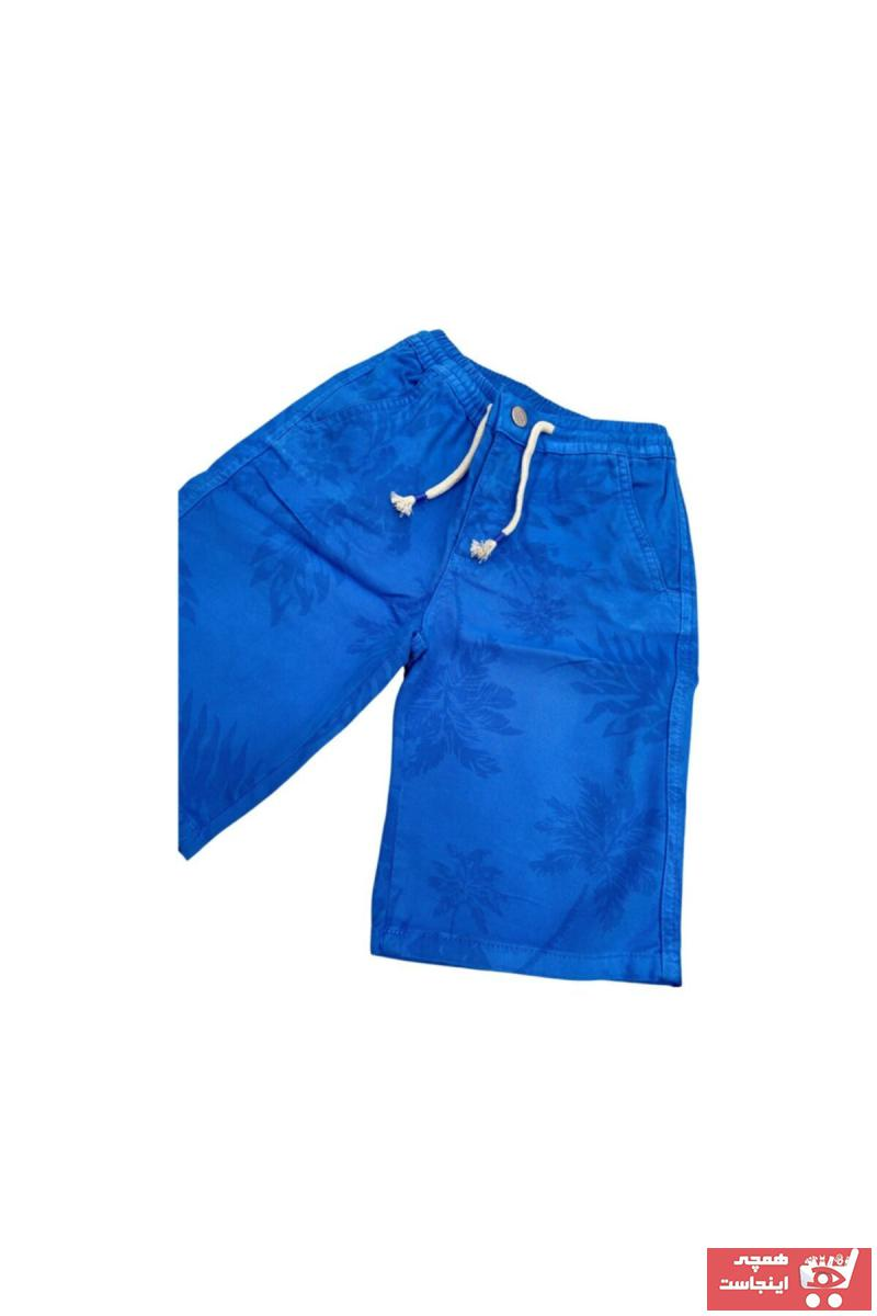 ست شلوارک پسرانه برند NYPOLO رنگ آبی کد ty102912838