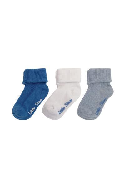 خرید انلاین جوراب بچه گانه پسرانه طرح دار برند yago giyim رنگ نقره ای کد ty102997115