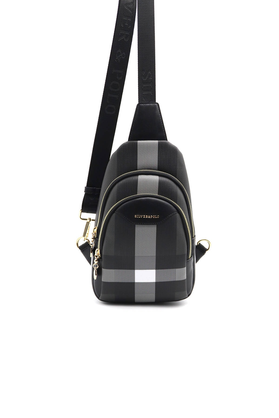 کیف کمری زنانه ست برند Silver Polo رنگ مشکی کد ty103595755