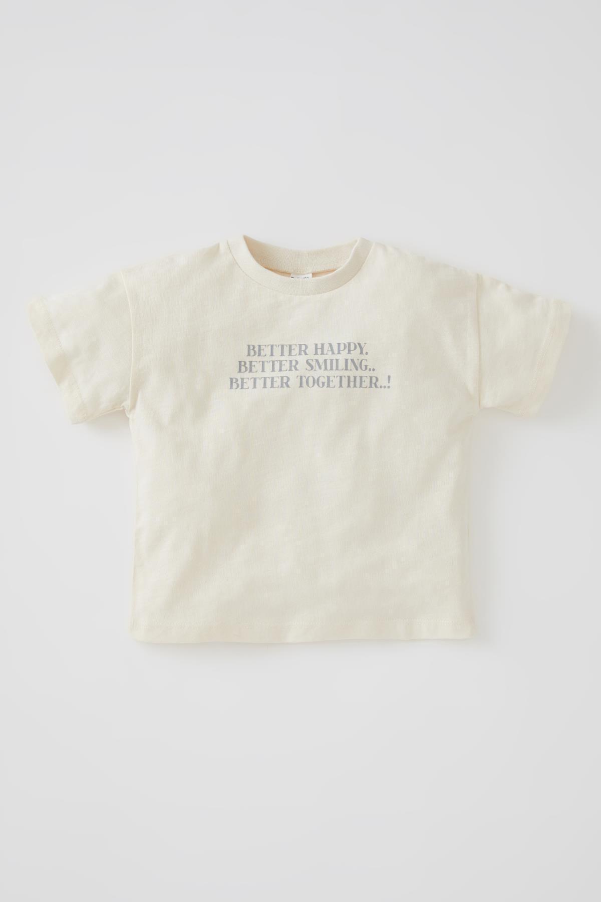 خرید اینترنتی تیشرت نوزاد پسرانه فانتزی برند دفاکتو ترک کد ty104352918