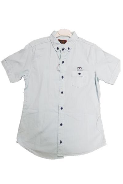 فروش پیراهن پسرانه 2021 برند WOGI DOGI رنگ فیروزه ای ty104356197