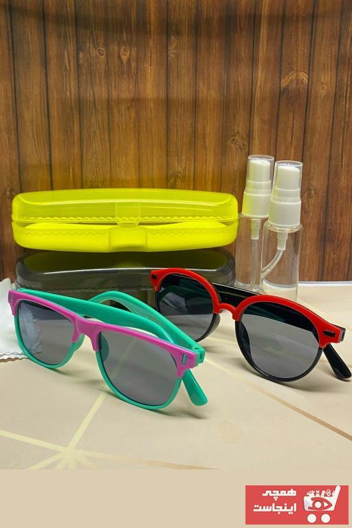 عینک آفتابی بچه گانه پسرانه خاص برند GBN رنگ قرمز ty104534300