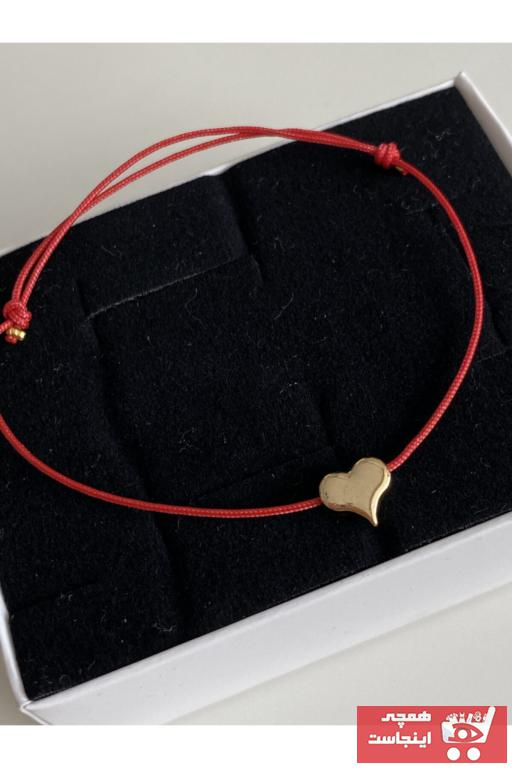 پابند زنانه مدل دار برند Mia Aksesuar رنگ قرمز ty106711333