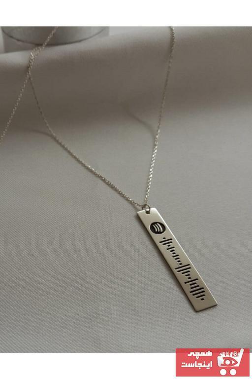 گردنبند مردانه قیمت برند Bidolu Sepet AVM رنگ نقره کد ty106783737
