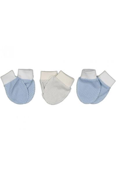 خرید انلاین دستکش جدید نوزاد شیک برند Güler bebe رنگ آبی کد ty107114021
