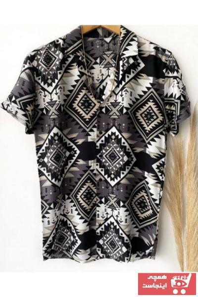 پیراهن مردانه خاص برند İnan Store رنگ مشکی کد ty107243527
