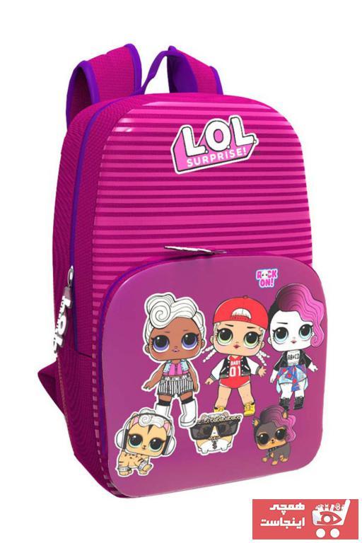 کیف مدرسه خاص بچه گانه دخترانه برند LOL کد ty30967509