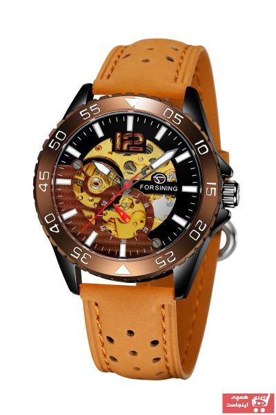خرید انلاین ساعت مردانه  برند Forsining رنگ قهوه ای کد ty31359936