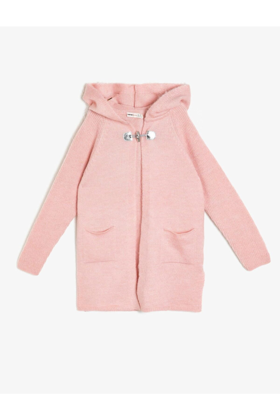 فروش ژاکت دخترانه 2021 برند Koton Kids رنگ صورتی ty31759095