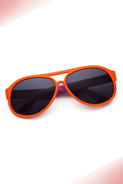 عینک آفتابی پسرانه خفن مارک Aqua Di Polo 1987 رنگ نارنجی کد ty3192767