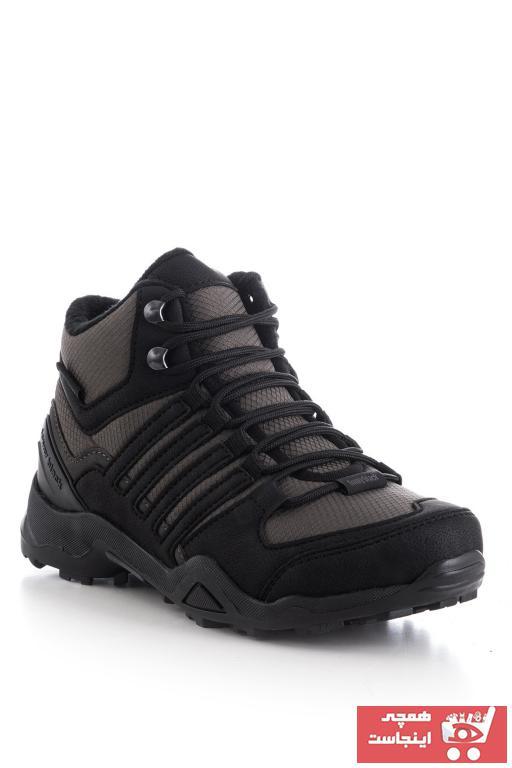 خرید پستی کفش بوت زیبا مردانه برند تونی بلک رنگ نقره ای کد ty32071088
