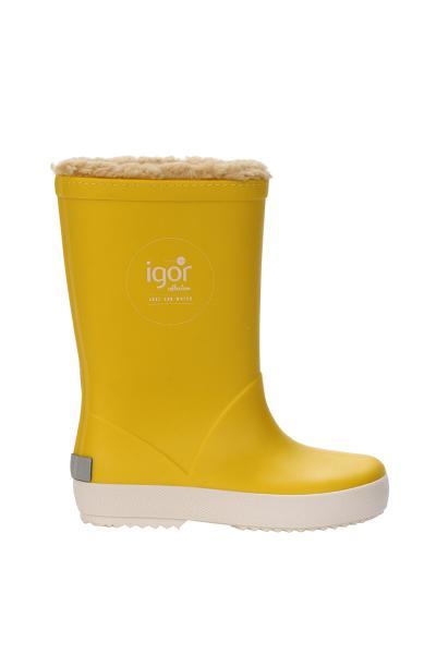 چکمه ارزان بچه گانه دخترانه برند IGOR رنگ زرد ty32295163