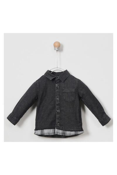 فروشگاه پیراهن نوزاد پسرانه  برند Panço رنگ مشکی کد ty32561515