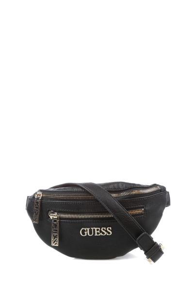 خرید نقدی کیف کمری اصل برند Guess رنگ مشکی کد ty32949616