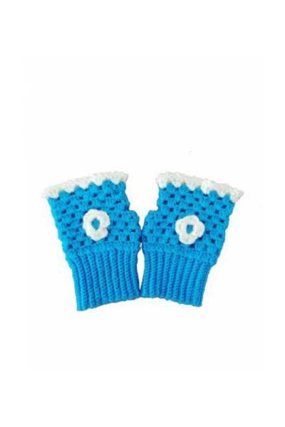 خرید ارزان دستکش بچه گانه دخترانه فانتزی برند Nuh Home رنگ آبی کد ty34197883