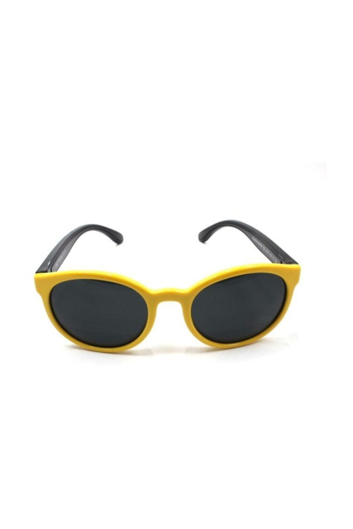 عینک آفتابی بچه گانه پسرانه ترک برند Polo Exchange رنگ زرد ty35101084