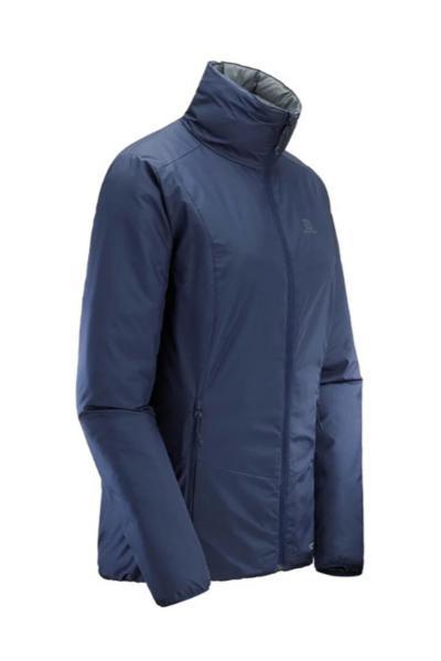 سفارش کاپشن ورزشی زنانه ارزان برند Salomon رنگ لاجوردی کد ty35298229