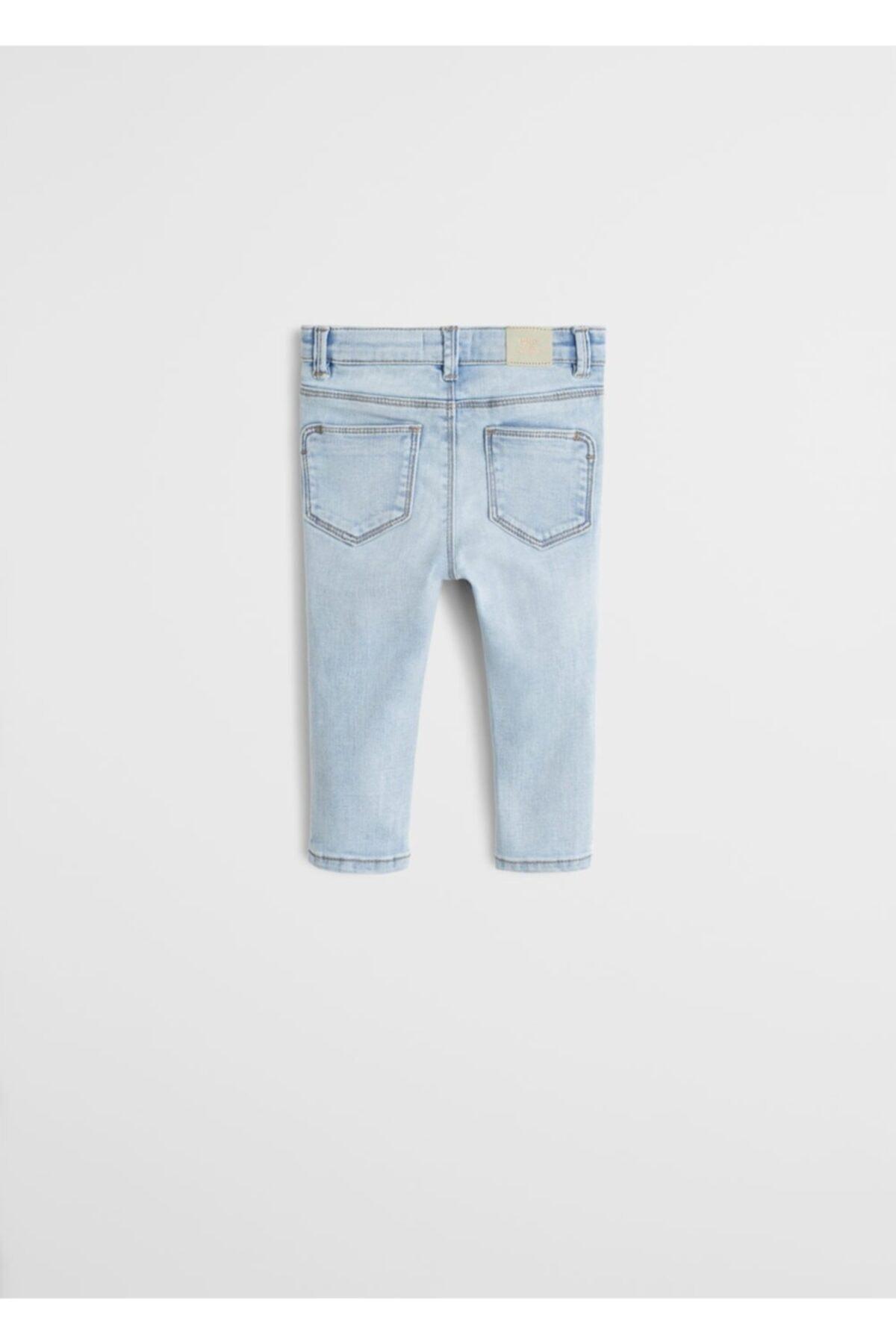 فروشگاه شلوار لی بچه گانه دخترانه اینترنتی برند منگو رنگ آبی کد ty35696117