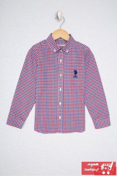 پیراهن بچه گانه ارزان مارک U.S. Polo Assn.برند US Polo رنگ لاجوردی کد ty35881060