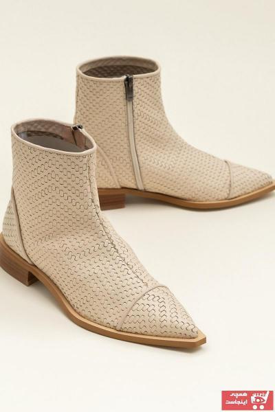 فروش بوت دخترانه  برند Elle Shoes رنگ بژ کد ty36319950