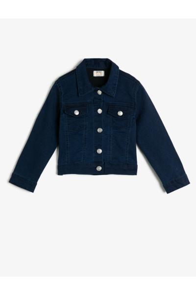 ژاکت دخترانه قیمت مناسب برند Koton Kids رنگ آبی کد ty36403820