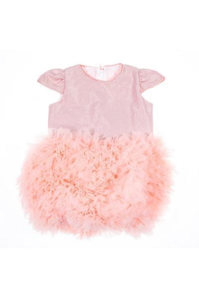 خرید پستی پیراهن دخترانه برند BEBEBEBEK رنگ صورتی ty36701662