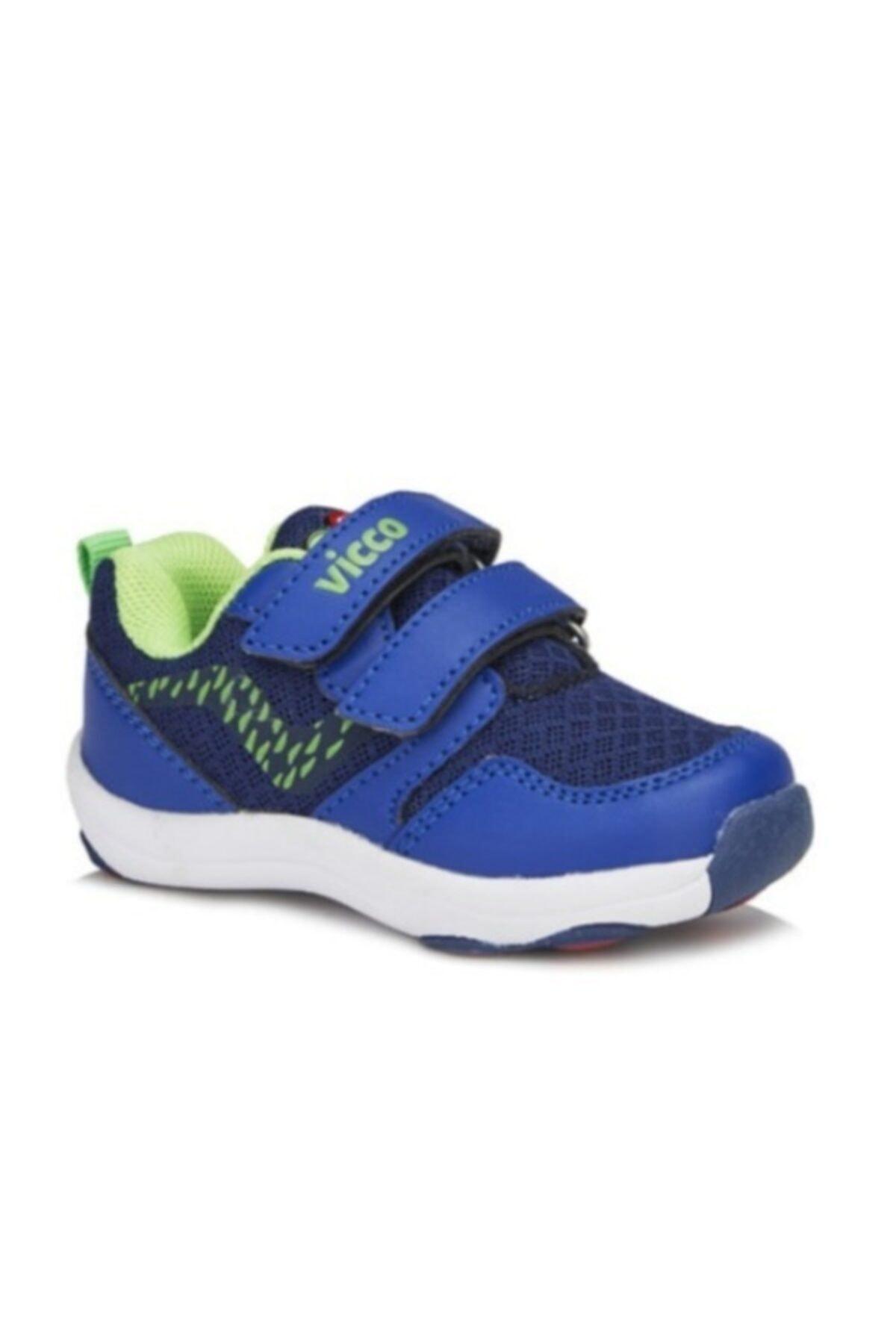 کفش پیاده روی نوزاد پسرانه ترک مجلسی برند Vicco رنگ لاجوردی کد ty37283992