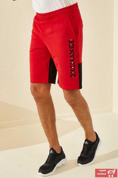 خرید شلوارک از ترکیه مارک تامی لایف رنگ قرمز ty37611570