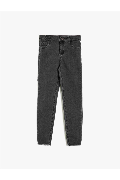 شلوار جین جدید برند کوتون رنگ نقره ای کد ty40207647