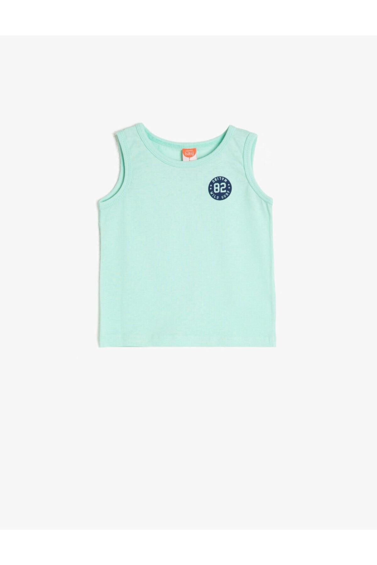 تاپ 2021 بچه گانه پسرانه برند کوتون رنگ سبز کد ty41174036