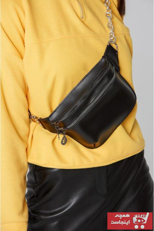 کیف کمری زنانه مدل برند PASSTELL رنگ مشکی کد ty41516167
