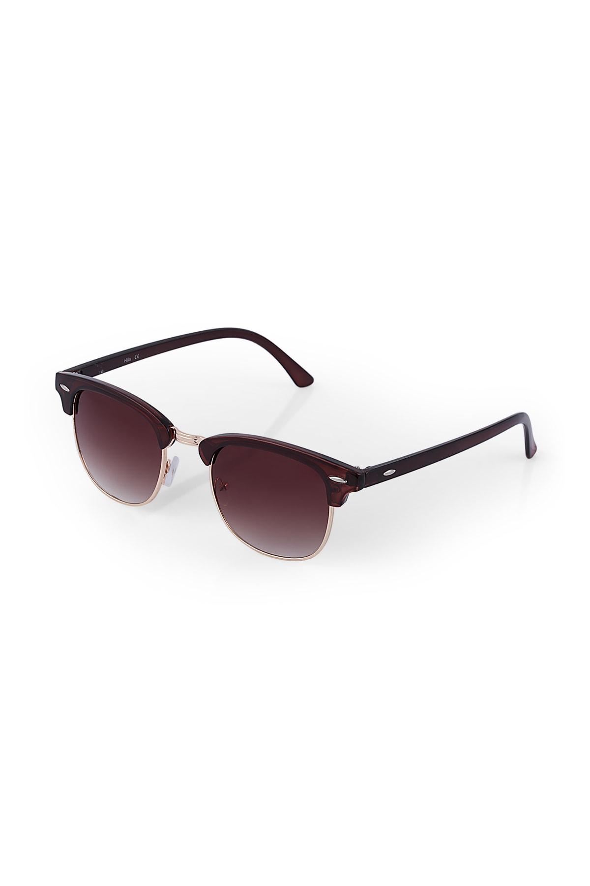 عینک دودی طرح دار برند Twelve رنگ قهوه ای کد ty41661624