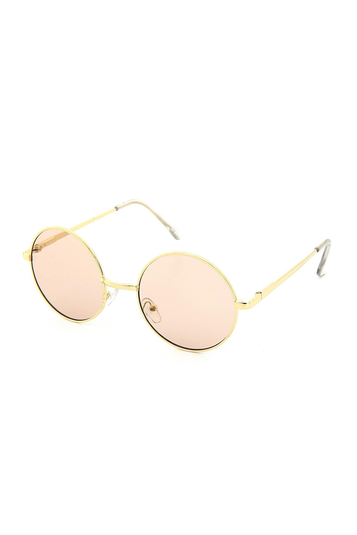 عینک آفتابی فانتزی برند Luis Polo رنگ طلایی ty42602539