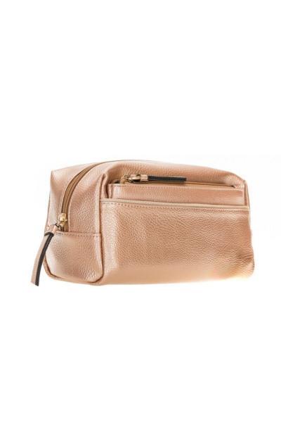 خرید انلاین کیف لوازم آرایش طرح دار برند PLM رنگ صورتی ty42830912