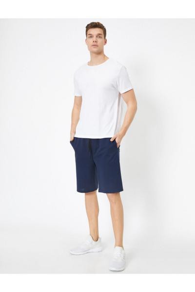 شلوارک مردانه جدید برند کوتون رنگ لاجوردی کد ty43508031