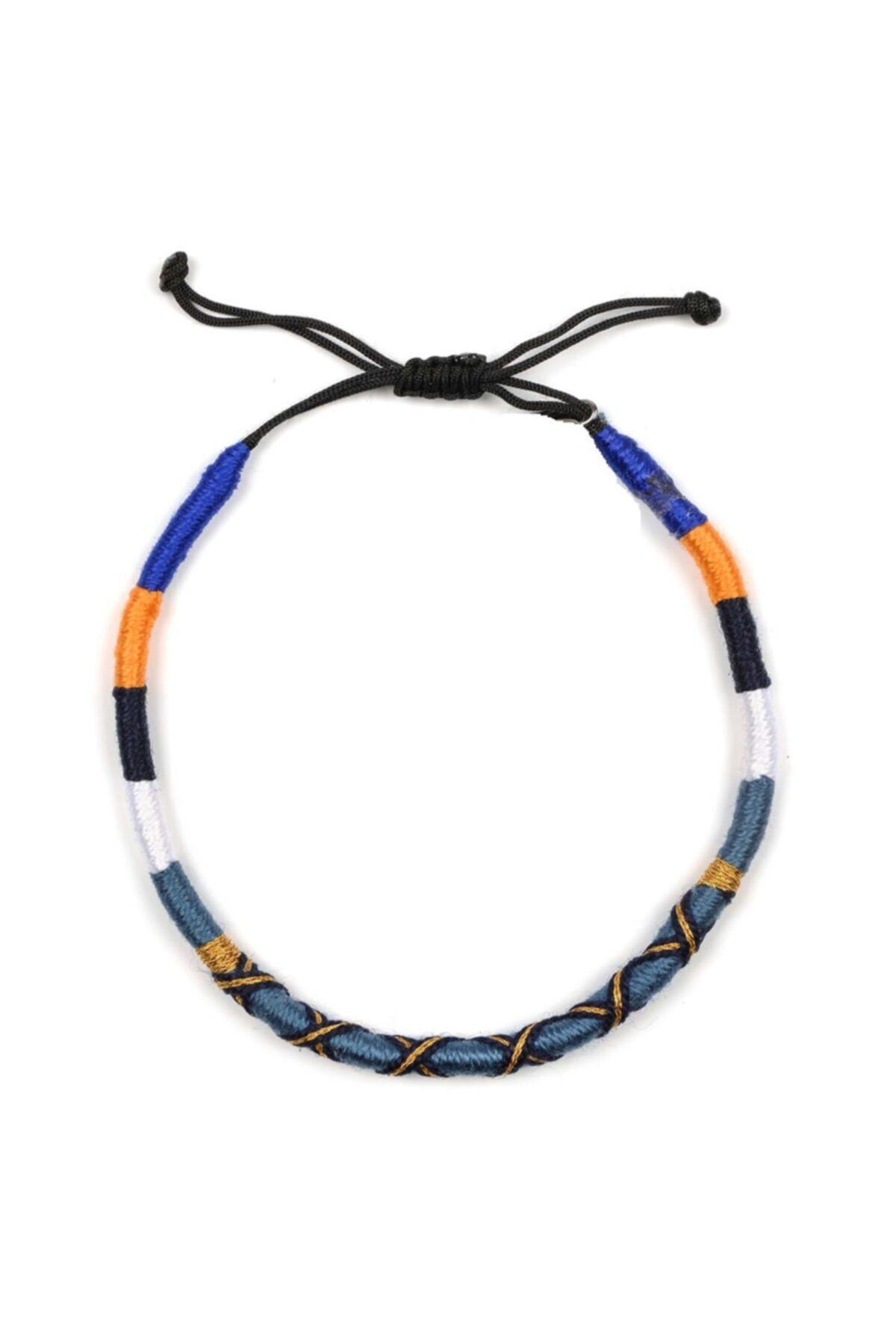 پابند زنانه مدل برند Klotho Design رنگ آبی کد ty43796279