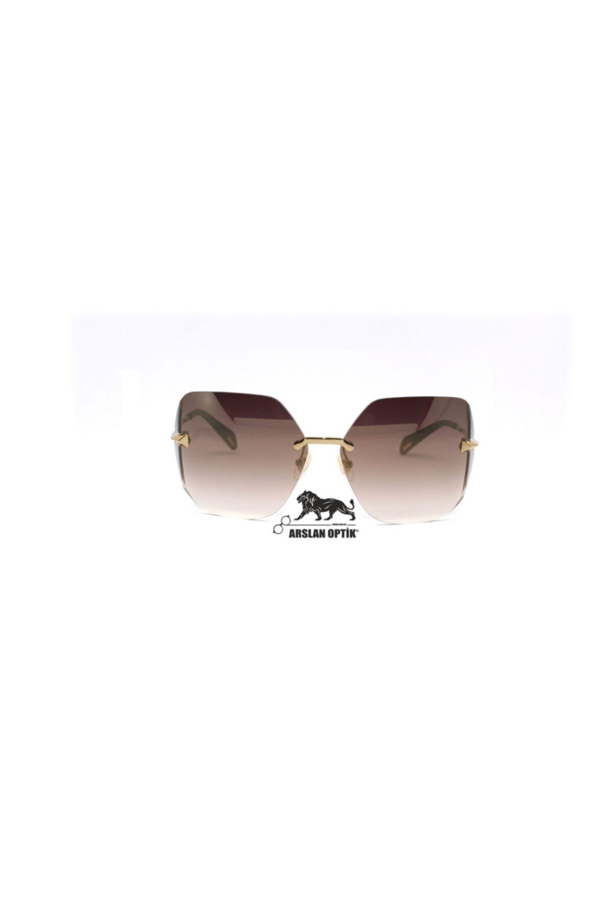 عینک آفتابی زنانه مجلسی برند Police رنگ طلایی ty44839817